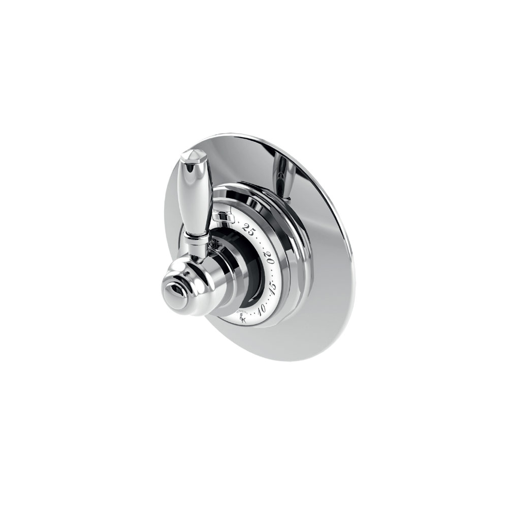 Built-in thermostatic mixer wit stop cock